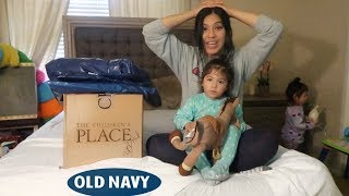 HUGE toddler haul | Old Navy & The Children Place