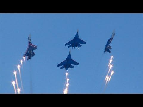 Russian Knights and Swifts Zhukovsky Moscow 2012 | Русские витязи и Стрижи в Жуковском 2012