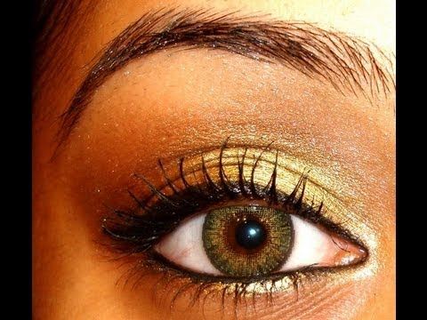 Bollywood Aishwarya Rai Umrao Jaan Inspired Eye Makeup Tutorial...