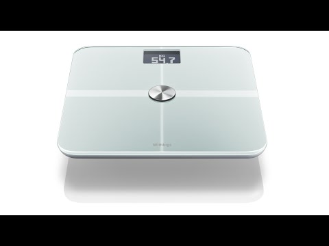 The Withings connected scale on your iPhone