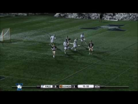 Jimmy Craft, Yale Men's Lacrosse, Long-Distance Goal vs. Lehigh