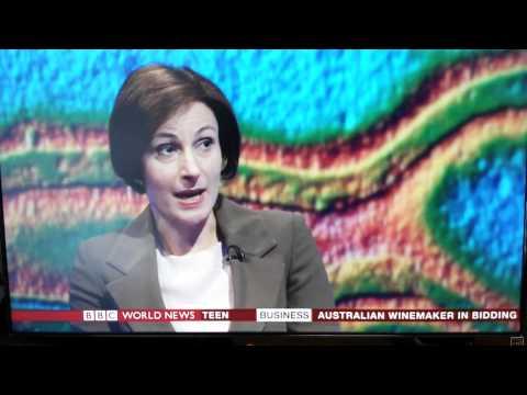 Dr. Sarah Edwards BBC World News 8th August 2014