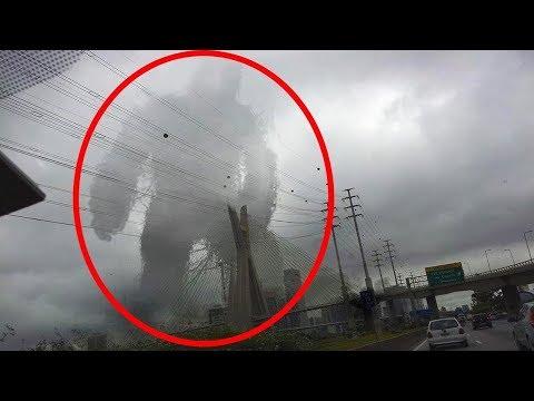 कैमरे में कैद 9 रहस्यमय आसमानी घटनाएँ  | Mysterious Incidents Occoured In The Sky (Part-2)