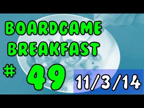 Board Game Breakfast: Episode 49 - That's a Review?