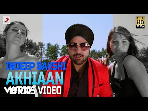 Akhian - Lyrics Video | Indeep Bakshi ft. Upz Sondh