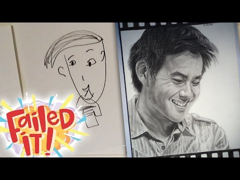 Drawing Each Other - FAILED IT!