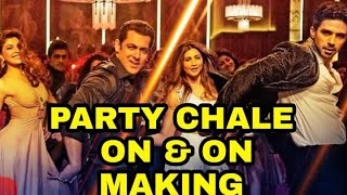 Race 3 34 Party Chale On Song Making 34 Behind The Scenes Salman Khan Mika Singh Lulia Vantur
