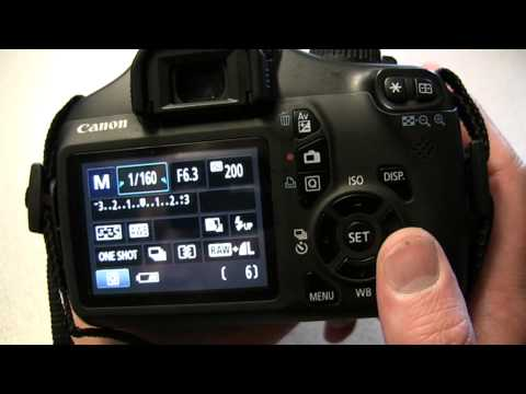 Using the Canon EOS 1100D / Rebel T3 DSLR - Media Technician Steve Pidd