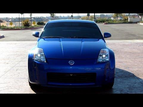 Nissan 350Z Review Headlights Window Tint Rear Hatch Struts Trunk Space VQ35 Z33 G35 G37 370Z Nismo