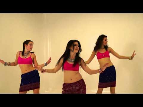 Уроки индийских танцев - видео