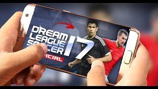 DREAM LEAGUE SOCCER 17 OFICIAL - A PRIMEIRA GAMEPLAY - O QUE MUDOU?