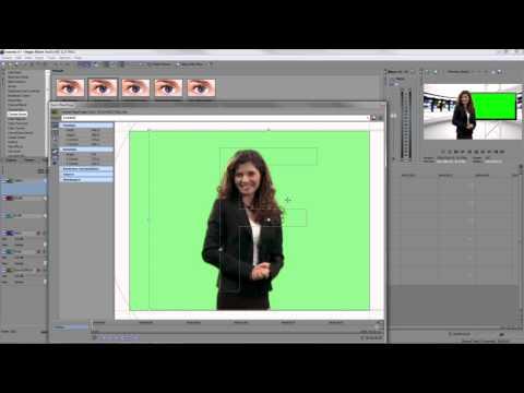 Sony Vegas Movie Studio HD 11 Green Screen Chroma Key Tutorial