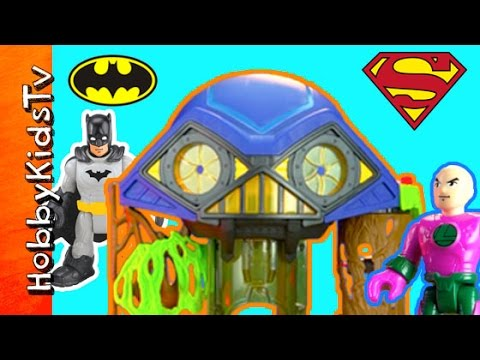 Batman Imaginext Hall Of Doom Robin Lex Superman Joker By Hobbykidstv video