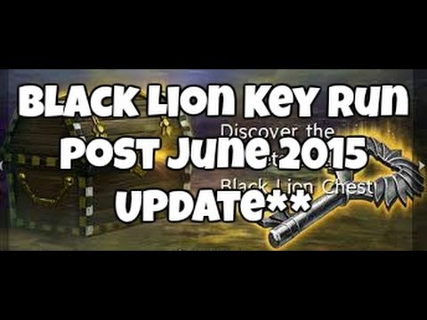 BLACK LION KEY RUN: Post June 2015 UPDATE**