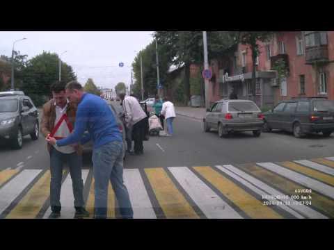 В Твери на переходе сбили детей