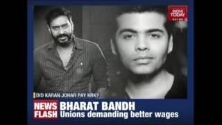 KRK Claims Karan Johar Paid Him Money To Trash Ajay Devgn's Shivaay