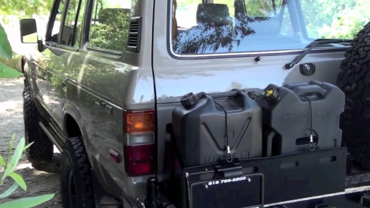 1989 Fj62 Extreme Custom Toyota Land Cruiser By Tlc Youtube