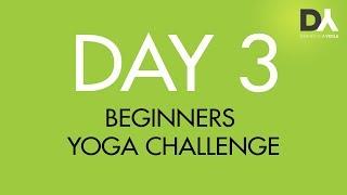 Йога челлендж для начинающих - День 3