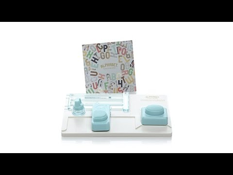 We R Memory Keepers Alphabet Punch Board Kit