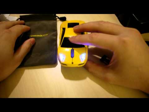 Lamborghini Murcielago Road Mice Wireless Mouse Unboxing