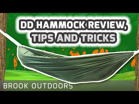 DD Hammock Review. Tips and Tricks