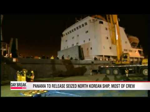 Panama to free North Korean ship, and most of crew