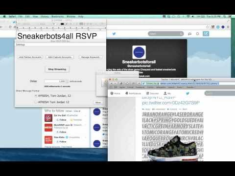Nike RSVP OCR Bot SUPERFAST 100% AUTOMATIC MAC AND WINDOWS