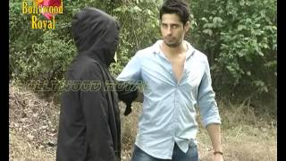 Siddharth Malhotra does Action Scene for