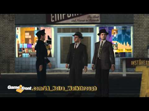 LA Noire Walkthrough - PT. 10 - Story Mission 6 - A Marriage Made in Heaven - Part 1