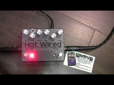 Wampler Pedals - Brent Mason Hot Wired Overdrive/Distortion pedal