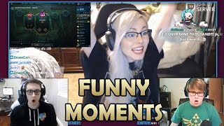 Bjergsen OUTPLAYED | 1000$ Donation | Imaqtpie got sick | Faker | Sneaky v2  | Funny moments #28