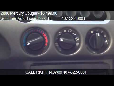 2000 Mercury Cougar V6 - for sale in Longwood, FL 32750