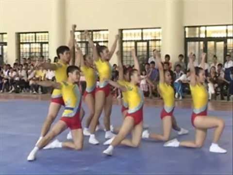 Bài thi đấu AEROBICS tự chọn - đội TP HCM