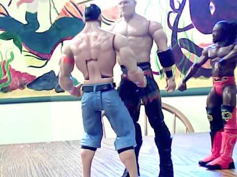 Ilsley Workshop: Kane vs John Cena Special Referee Kofi Kingston