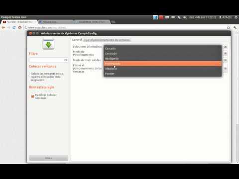 Personalizar ubuntu 11.10 -Compiz parte 3: administración de ventanas, shift switcher