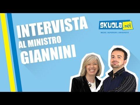 Stefania Giannini - Intervista Skuola.net