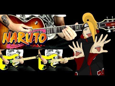 Naruto OST guitar cover - Stalemate (Deidara theme)
