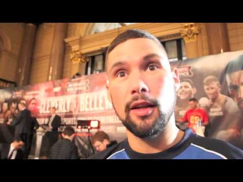 'I WILL END CLEVERLY'S CAREER TOMORROW NIGHT' - TONY BELLEW POST WEIGH-IN INTERVIEW / iFL TV