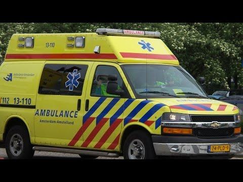 [Chevrolet] Ambulance 13-110 met spoed vanaf post OLVG West