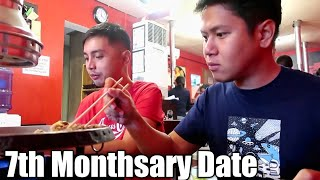 7th Monthsary Date   Bobster Vlogs Ep 46