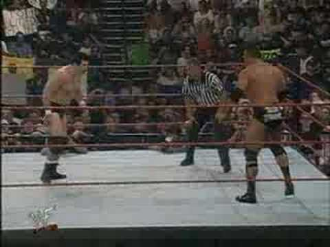 The Rock vs Dan Severn Video
