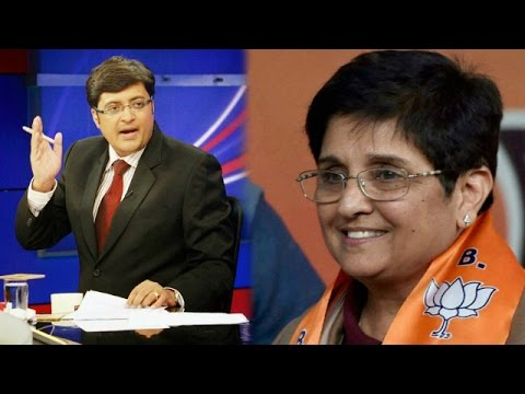 The Newshour  Debate: Photo finish for Delhi - Full Debate (3rd Feb 2015)