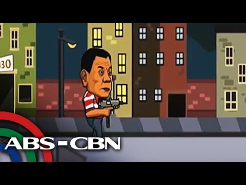 TV Patrol: Duterte, bida sa mobile games