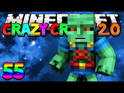Minecraft Mods Crazy Craft 2.0 Martian Manhunter Modded Survival #55 w Lachlan