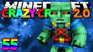 "Minecraft Mods Crazy Craft 2.0 ""Martian Manhunter???"" Modded Survival #55 w/Lachlan"