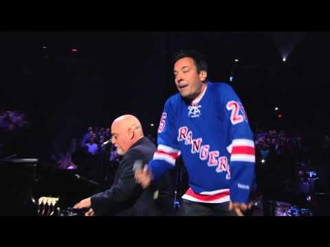 Billy Joel and Jimmy Fallon 'Start Me Up' (MSG - January 7, 2016)