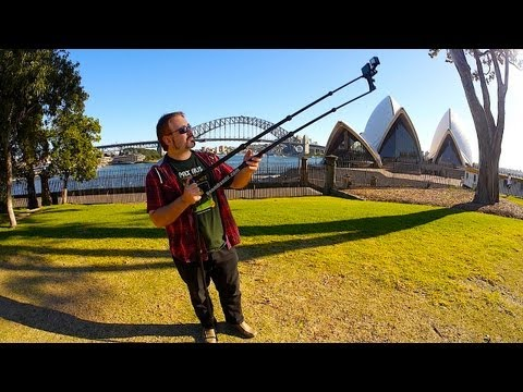 Camera Jib Crane for GoPro. iPhone & Pocket Cam's - BoomBandit Review