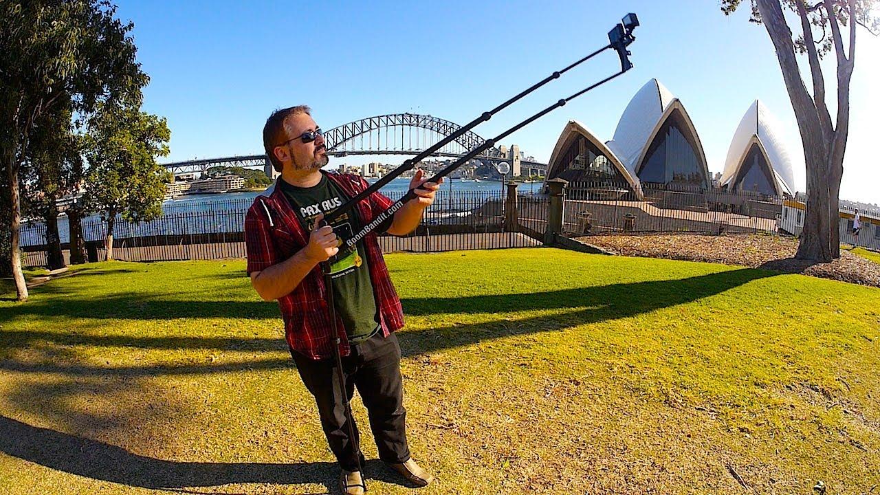 Jib Crane Gopro : Camera jib crane for gopro iphone pocket cam s