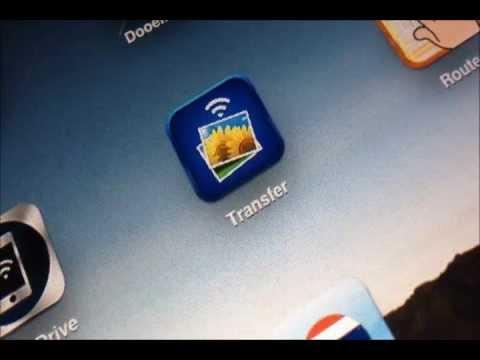 ส่งภาพ iPad เข้าคอมด้วยแอพ Photo Transfer App