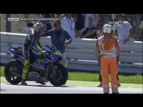 Valentino Rossi Wins | Misano 2014 | Last Lap 1080p